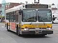 MBTA route 116 bus on Meridian Street, August 2015.JPG