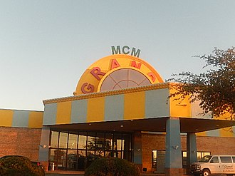 Odessa, Texas - MCM Grande Hotel in Odessa includes the West Texas Events Center.