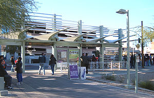 METRO Light Rail ASU-Downtown Campus Southbound Station.jpg