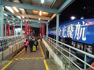 Cotai - Image: Macau Taipa ferry piers Cotai Water Jet 金光飛航 night April 2016 DSC (1)