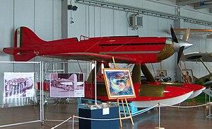 Macchi M.C.72 - Preserved Macchi M.C.72 in Italy at the Museo storico dell'Aeronautica Militare di Vigna di Valle