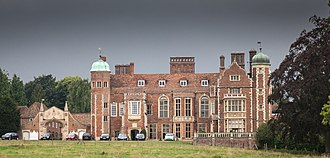 Madingley - Madingley Hall, University of Cambridge