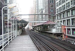 Madison/Wabash station - Image: Madison Wabash