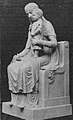 Madonna in der St. Antonius Kirche in Düsseldorf, modelliert vom Bildhauer Franz Linden, ausgeführt in Laaser Marmor.jpg