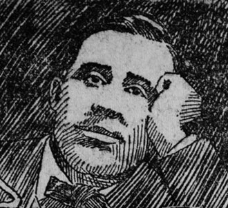 William Mailly - William Mailly as he appeared in a drawing in the Appeal to Reason in  1903.