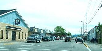 Stephenville, Newfoundland and Labrador - Main Street, Stephenville