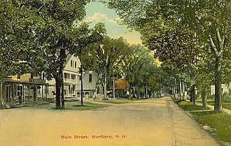 Marlborough, New Hampshire - Image: Main Street in Marlborough, NH