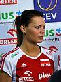 Maja Tokarska 04 - FIVB World Championship European Qualification Women Łódź January 2014.jpg