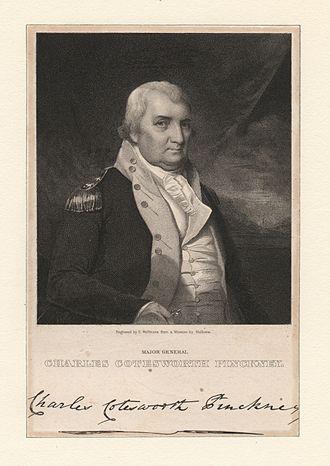 Charles Cotesworth Pinckney - Major General Charles Cotesworth Pinckney (NYPL NYPG94-F43-419838)