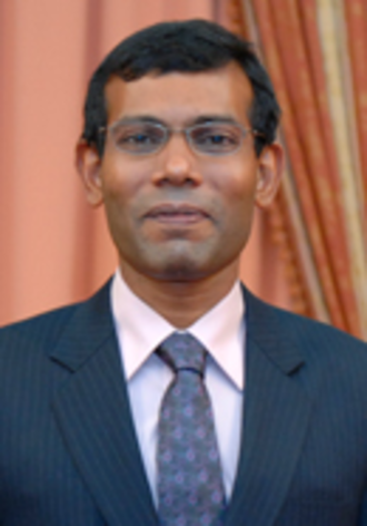 Mohamed Nasheed - Image: Maldives President Nasheed