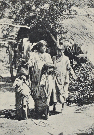 Lacandon people - Photograph of Lacandons published by Teoberto Maler in 1901