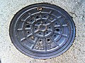 Manhole cover in Gifu city.jpg