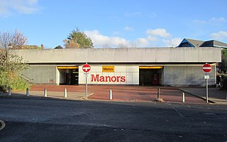 Manors Metro station Tyne and Wear Metro station in Newcastle upon Tyne
