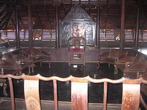 Padmanabhapuram Palace - Mantrasala (Council chamber)
