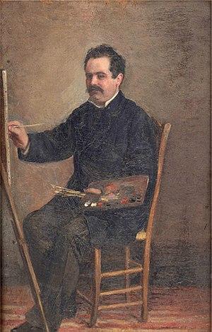 Manuel Gómez-Moreno González - Self-portrait (1878)