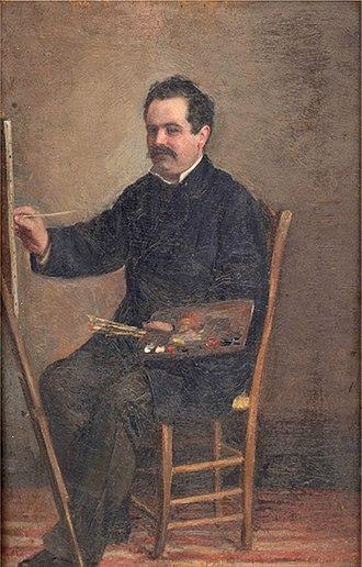 Manuel Gómez-Moreno González - Manuel Gómez-Moreno González,Self-portrait, 1878