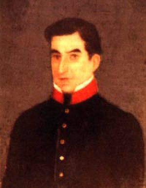 1811 Independence Movement - Manuel José Arce, leader of the revolt in San Salvador
