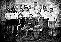 Manuel Lesteiro, Álvaro de las Casas y Filgueira Valverde con los ultreyas en Pontevedra (1932).jpg