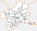 Map.Kasakake-Town.Gunma.PNG