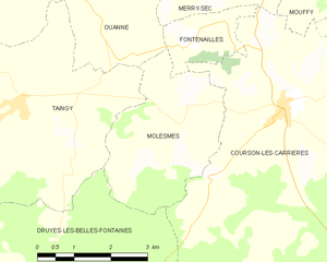 Map commune FR insee code 89260.png