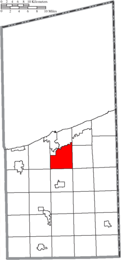 Location of Plymouth Township in Ashtabula County