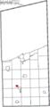 Map of Ashtabula County Ohio Highlighting Rock Creek Village.png
