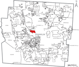 Map of Franklin County Ohio With Grandview Heights Labeled.png