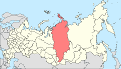 Map of Russia - Krasnoyarsk Krai (2008-03).svg