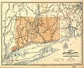Map of the railroads of Connecticut to accompany the report ... 1893. Prepared by S. D. Tilden, Hartford. LOC 98688453.jpg