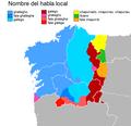 Mapa coa denominación da lingua local no dominio lingüístico galego.png