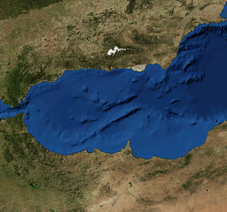 Alboran Sea The westernmost portion of the Mediterranean Sea, lying between the Iberian Peninsula and the north of Africa