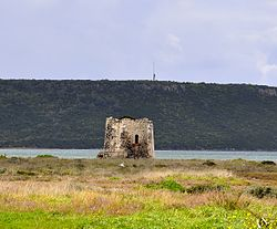 Marceddì coastal tower