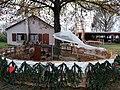 Marché de Noël - enclos des animaux (Ohnenheim).jpg