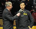Marco Fu and Rolf Kalb at Snooker German Masters (DerHexer) 2013-02-03 02.jpg