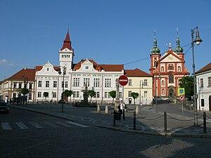 Brandýs nad Labem-Stará Boleslav - Image: Mariánské náměstí