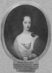 Maria Elisabet, 1678-1755, prinsessa av Holstein-Gottorp