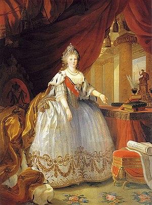 Maria Feodorovna (Sophie Dorothea of Württemberg) - Tsarina Maria Feodorovna during her husband's reign, c.1798