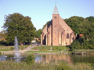 Maribo Cathedral Church in Lolland, Denmark