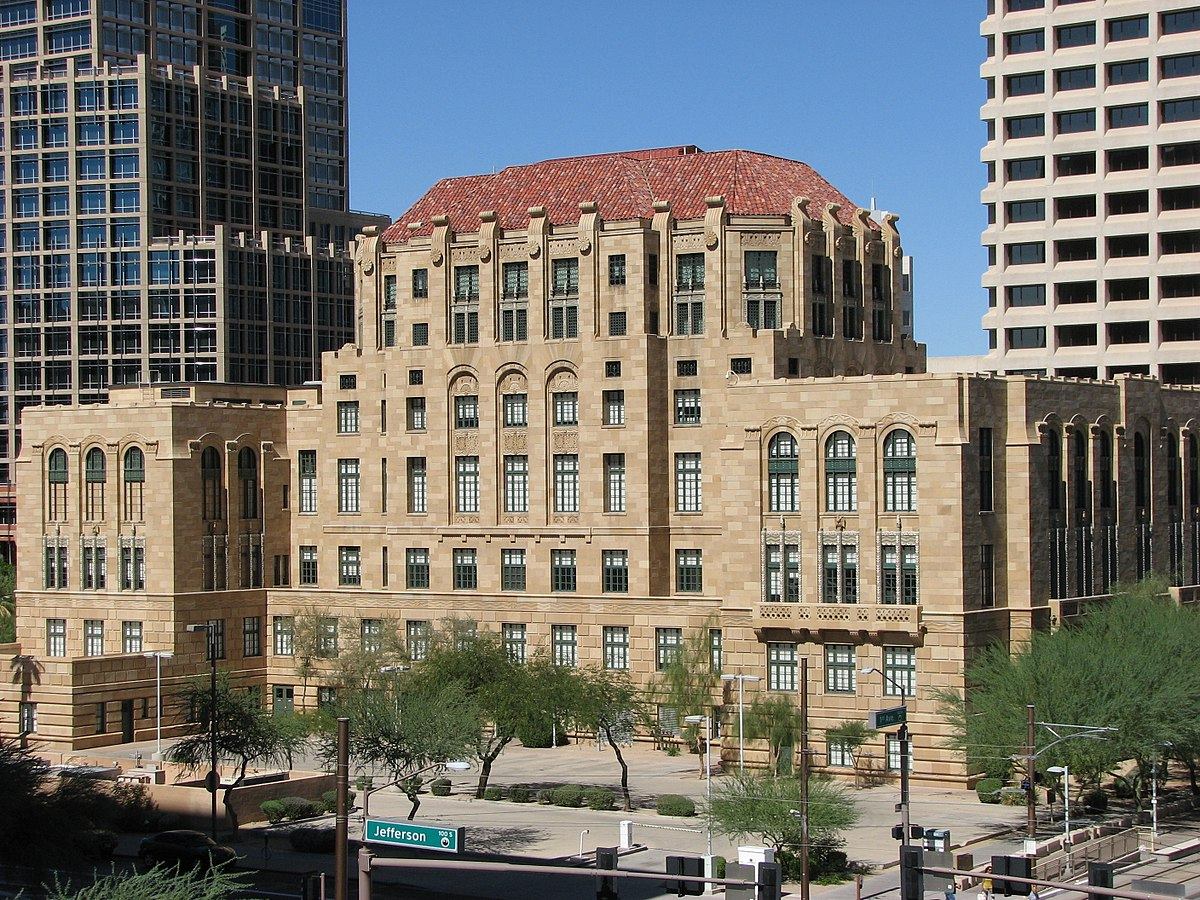 Maricopa County Courthouse - Wikipedia
