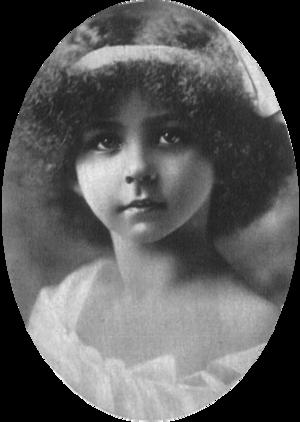 Marie José of Belgium - Marie José, aged 9