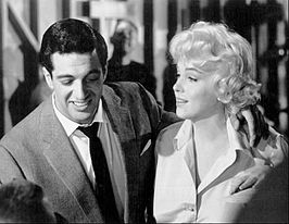 Frankie Vaughn en Marilyn Monroe in Let's Make Love