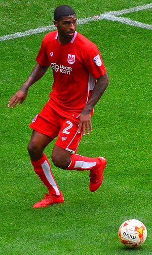 Mark Little (footballer) - Image: Mark Little, Bristol City right back (29300239456)