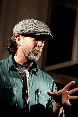 Mark Terrill -  Mark Terrill at the Berlin Poetry Hearings (2006). Photo by Stephen Mooney