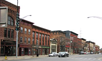 Market Street Historic District (Potsdam, New York) - Image: Market Street Historic District, Potsdam, New York