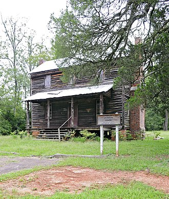 National Register of Historic Places listings in Saluda County, South Carolina - Image: Marsh Johnson House