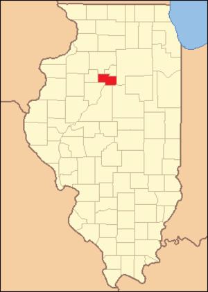 Marshall County, Illinois - Image: Marshall County Illinois 1839