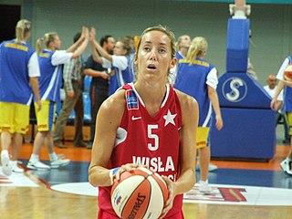 Marta Fernández Spanish basketball player