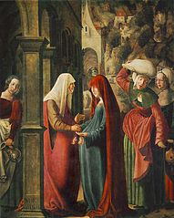 Meeting of Mary and Elisabeth