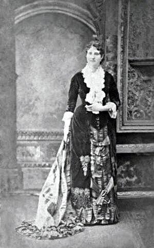 Mary E. Cobb - Mary E. Cobb c. 1880