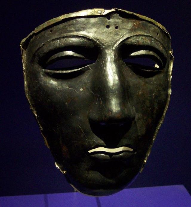 Maske Museum Kalkriese 1